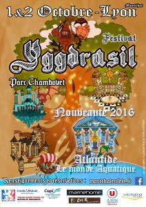 Affiche festival Yggdrasil
