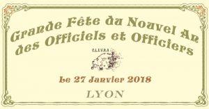 Grande fête du Nouvel An des Officiels et Officiers @ Lyon
