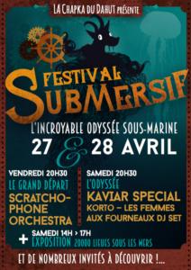 Festival Submersif @ La Peniche   Chalon-sur-Saône   Bourgogne Franche-Comté   France