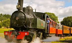 Voyage en train avec le Velay Express
