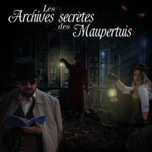 """Soirée Mystère """"Les Archives Secrètes des Maupertuis"""" (session 1) @ Médiathèque Agnès Verda, L'Isle d'Abeau"""
