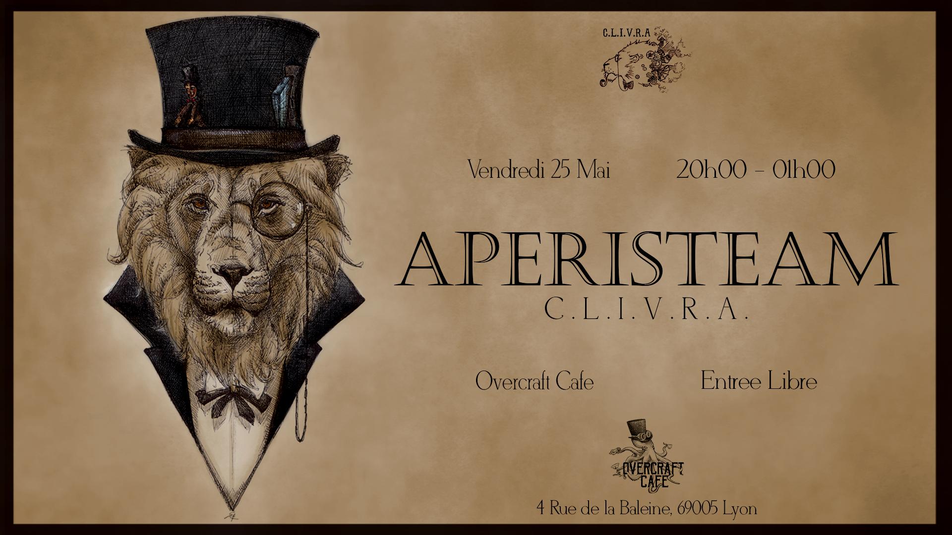 Apéristeam Lyon @ Overcraft Café | Lyon | Auvergne-Rhône-Alpes | France